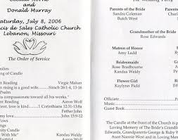 wedding post wedding program wording awesome simple wedding