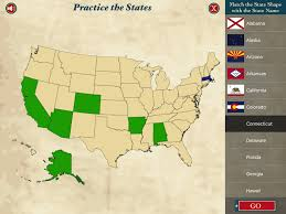 50 States Map With Capitals by State The States Learn U S States And Capitals App Ranking And