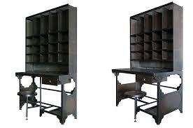 bureau metal et bois bureau style industriel en metal et bois finest meuble de bureau