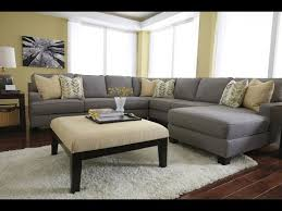 Gray Velvet Sectional Sofa Design Ideas YouTube - Sofa design ideas photos