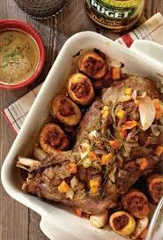 cuisiner epaule agneau recette d épaule d agneau rôtie et ses pommes de terre