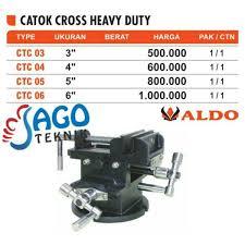 Catok Kayu jual catok cross catok kayu catok aldo heavy duty 6 inch murah