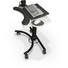 Adjustable Height Laptop Stand For Desk by Lapmatic Laptop U0026 Keyboard Stand Mooreco Inc Best Rite Balt