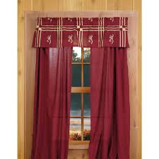 Curtain Drapes Curtains Deer Decor Horns And Rustic Backwoods Moose Curtain Cabin