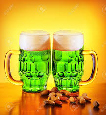 Irish Green Beer Traditional Alcohol For St Patrick U0027s Day Holiday