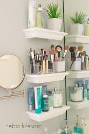 bathroom 18 genius storage ideas with makeup organization and