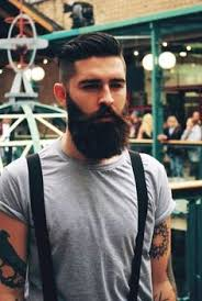 hairstyles that go with beards ideas about cool hairstyles with beards curly hairstyles