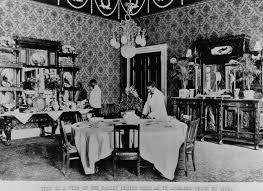 White House Dining Room The Family Dining Room 1900 White House Historical Association