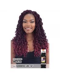 model model crochet hair model model glance crochet braid goddess loc 14 elevate styles