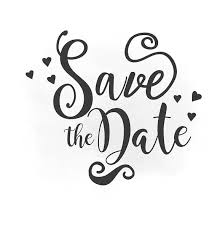 digital save the date save the date svg clipart wedding annuncment save the date