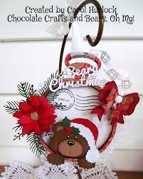 chocolate crafts and bears oh my cottagecutz pocket watch beary