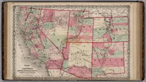 Map Of Arizona And California by California Nevada Utah Colorado Arizona And New Mexico