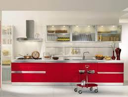 Chinese Red UV Kitchen CabinetVC Cucine Kitchen Cabinet Vanity - Chinese kitchen cabinet manufacturers
