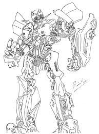 free printable bumblebee transformer coloring pages fire free