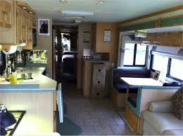 Rv Interiors Images Redecorating The Rv Upholstery Paint For Dinette Cushions And