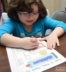 free dental coloring pages kids