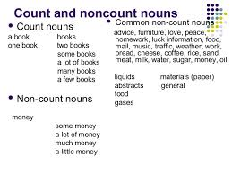 Exercises Count And Non Count Nouns Basics Of Eng Grammar Wrap Up