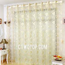 Sheer Gold Curtains Transparent And Gold Patterned Luxury Clearance Sheer Curtains