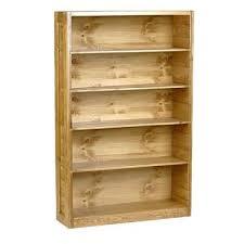 Classic Bookshelves - bookcase pine wood furniture honey pine bookcase honey pine