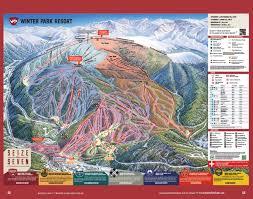 Granby Colorado Map by Grand County Downhill Ski Maps Free Guestguide Publications