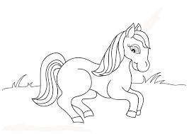 horse colouring pictures horse colouring