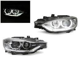 eye bmw headlights depo 12 15 bmw f30 f31 u ring led halo ring projector