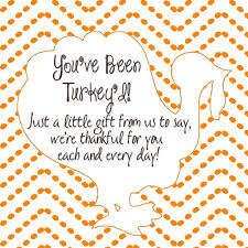 you ve been turkey d ding dong ditch label for home and for the