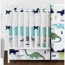 Blue And Green Crib Bedding Sets Sweet Jojo Designs 9pc Crib Bedding Set For The Blue And Green Mod
