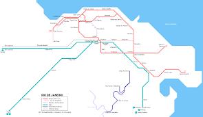 Map Of Central America And South America Urbanrail Net U003e South America U003e Brazil U003e Rio De Janeiro Metro