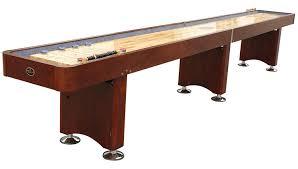 How Long Is A Shuffleboard Table by Amazon Com Playcraft Georgetown Shuffleboard Table Sports