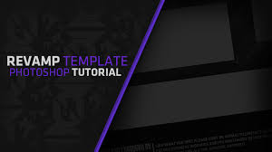 template youtube photoshop cc songs in how to make a design rev rebrand template in photoshop