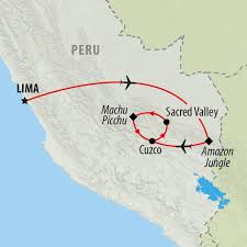 Peru South America Map by Peru Tours Holidays To Peru On The Go Tours