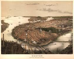 Boston Map 1776 by Bachmann U0027s Map Of Boston 1877