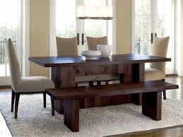 best dining table with bench designs for the better dining experiences