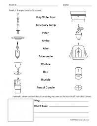 church worksheets worksheets
