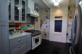 Rta Kitchen Cabinets Los Angeles House Crashers Painted Shaker Cabinets Eclectic Kitchen Los