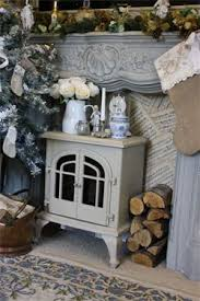 Shabby Chic Fireplaces by Shabby Chic Vintage Fireplace Chimney Free