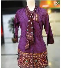Baju Batik Batik model baju batik kerja untuk wanita acholegal