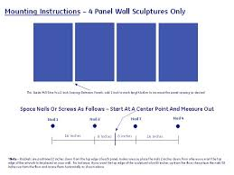 how to hang metal wall art mounting instructions u0026 diagram mad