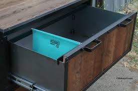 Vintage Industrial File Cabinet File Cabinet Vintage Industrial Reclaimed Wood Mid Century