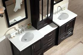 Standard Bathroom Vanity Top Sizes by Vanities Portland 72 Double Sink Bathroom Vanity 72 Double Sink