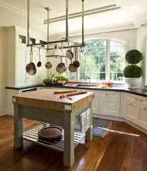 pots and pans rack cabinet brown parson chair laminate mahogany