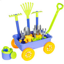 bestchoiceproducts bcp garden wagon with 8 gardening tools fun