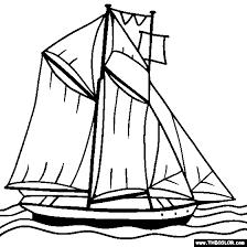 drawn sailing coloring page pencil and in color drawn sailing