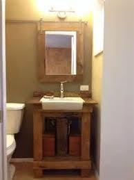 pallet vanity on pinterest pallet bathroom cheap bathroom remodel