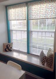 no sew kitchen valances in 5 easy steps