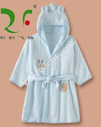 Toddler Terry Cloth Robe 100 Cotton Hooded Baby Bathrobes King Towel
