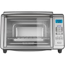 Under Counter Toaster Oven Black And Decker Black Decker Digital Countertop Toaster Oven To3280ssd Walmart Com