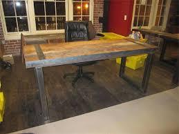 Rustic Wood Office Desk Reclaimed Wood Office Furniture Planinar Info
