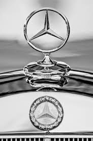 mercedes ornament 2 photograph by reger
